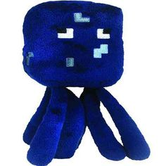 From the hit video game, Minecraft comes Minecraft Squid Plush! These Overworld Animal Mobs are fun for all ages! Minecraft Sheep, Minecraft Gifts, Minecraft Video Games, Minecraft Room, Hama Beads Minecraft, Minecraft Tutorial, Minecraft Party, Crochet Lego, Project Dashboard