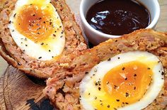 Scotch eggs are a time-honored tradition at The Ship, a 227-year-old pub in Wandsworth that sponsors the annual Scotch Egg Challenge. - Courtesy The Ship
