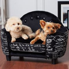 Pet Sofa Dog Bed Ultra Plush Cat Soft Cushion by AlphaDogSupplies