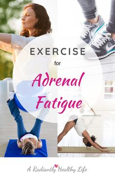 Exercise For Adrenal Fatigue - A Radiantly Healthy Life Hiit Workouts For Beginners, At Home Workouts For Women, Fun Workouts, Feeling Really Tired, How Are You Feeling, Adrenal Fatigue, Chronic Fatigue, Exercise To Reduce Thighs, Adrenal Support