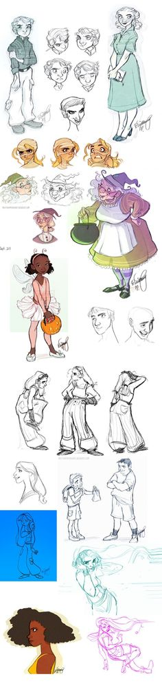Oodles of Doodles 7 by *Britt315 on deviantART ✤ || CHARACTER DESIGN REFERENCES…
