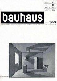 Bauhaus 3-1 Jan 1929 - Bauhaus - Monoskop