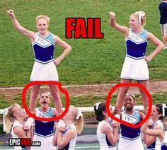 Cheerleaders Fail