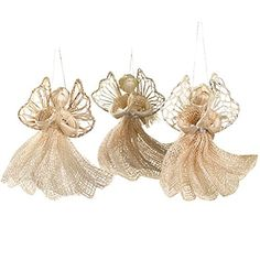 Factory Direct Craft Natural Raffia Straw Angel Doll2 Pieces