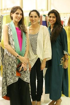 Sania Maskatiya Launches Second Store in Karachi, Classy Outfits, Girl Outfits, Two Store, Indian Outfits, Indian Clothes, Indian Fashion, Womens Fashion, Shalwar Kameez, Indian Ethnic