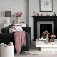 Unique 111 Fabulous Dark Grey Living Room Ideas to Inspire You https://decorspace.net/111-fabulous-dark-grey-living-room-ideas-to-inspire-you/
