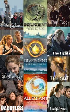 I recently read Divergent. And now I'm hooked on the series.