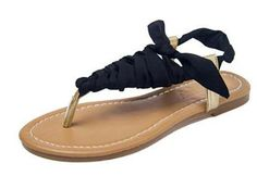 MKK Fashion Summer Womens Flat Thongs Flip Sandals * Details can be found by clicking on the image.