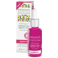 We think this is going to be a hit! Do you? Andalou 1000 Roses Moroccan Beauty Oil. Silky, lightweight oil with alpine rose stems, Argan and pomegranate. Suitable for sensitive skin, vegan approved and gluten and paraben free. Natural ingredients!