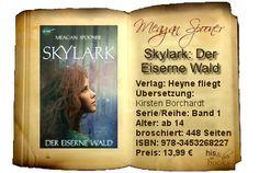 """""""Skylark – Der Eiserne Wald"""" lebt von den Eindrücken der Ich-erzählenden Protagonistin Lark. Mir waren die endlosen Erzählungen und Beschreibungen zu ermüdend und ich hatte lange Zeit das Gefühl, das nichts voran geht. Lediglich der außergewöhnlich fantasievolle Weltentwurf, die Mischung aus SciFi und Fantasy, zogen mich in ihren Bann."""