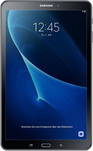Samsung Galaxy Tab A (2016) Tablette tactile 10,1″(25,65 cm)(16 Go, Android, Wi-Fi, 1 Prise Jack, Noir)