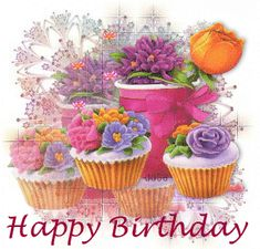 """Happy Birthday to our flower """"Miss Manzy"""" Pansy Special Birthday Wishes, Happy Birthday Wishes Cards, Happy Birthday Flower, Happy Birthday Girls, Happy Birthday Images, Birthday Pictures, Birthday Greeting Cards, 21 Birthday, Sister Birthday"""