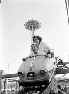 Ralph Crane for LIFE - Seattle World's Fair, 1962. S)