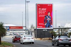 Digital Billboard Sydney Airport - APN Outdoor