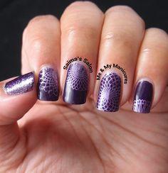 Saima's Salon: My Manicure: Spirograph #barrym
