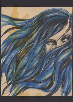 Blue Hair by yrieden92 on DeviantArt