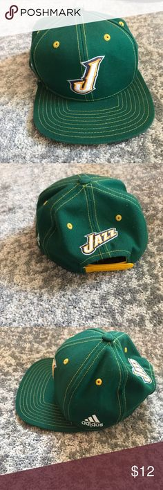 "6944b13ae48bd0 NBA Utah Jazz Cap Hat NBA Utah Jazz Cap Hat Excellent condition Has ""Owen"""