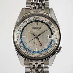 SEIKO WORLD TIME 自動巻腕時計  se03317