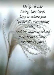 """When I am asked, """"How are you"""", I tell you what you want to hear. There simply are no words to tell you the depth of my grief. There is no language for that kind of grief. Oh my precious Doug.I miss you so much. Now Quotes, Great Quotes, Life Quotes, Inspirational Quotes, Super Quotes, Miss Mom, Miss You Dad, I Miss My Daughter, The Words"""