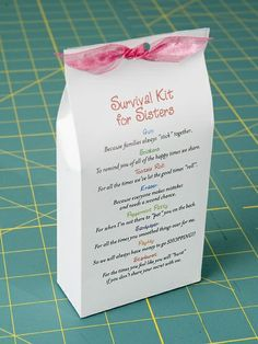sister survival kit.  cute! craft-ideas
