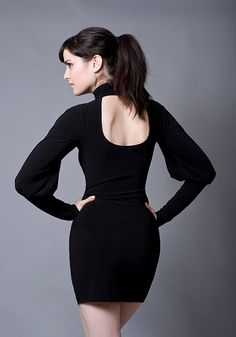 Long Sleeve Cocktail DressMade to Order by decadentdesignz on Etsy, $160.00