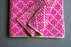 Mosaic Blanket | The Purl Bee