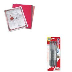 KITPAC103637PENZE21BP3K6  Value Kit  Pentel Clic Eraser PencilStyle Grip Eraser PENZE21BP3K6 and Pacon Riverside Construction Paper PAC103637 ** Check this awesome product by going to the link at the image. #ClayDought