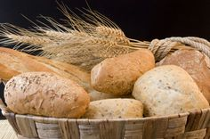 10.  Multi-Grain Dinner Rolls | Fit & Fab Living | Use your bread machine to make these healthy dinner rolls. Serve these with your turkey-day feast or make this recipe alongside your favorite stew on a chilly day. | Holiday Sweet Potatoes + 9 More Healthy Thanksgiving Sides