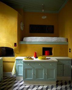 Residência em Nisyros, Grécia. Projeto de George Koukourakis. #arquitetura #arte #art #artlover #design #architecturelover #instagood #instacool #instadesign #instadaily #projetocompartilhar #shareproject #davidguerra #arquiteturadavidguerra #arquiteturaedesign #instabestu #decor #architect #criative #cor #harmonia #colours #harmony #grécia #georgekoukourakis