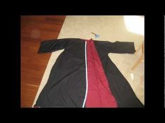 How to make a Harry Potter Robe - YouTube