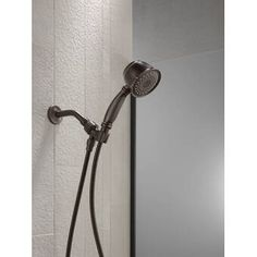 Universal Showering Components Multi Function Handheld Shower Head with TouchClean Finish: Venetian Bronze