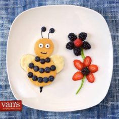 Bumble bee pancake