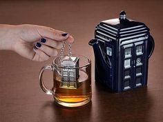 A tea infuser and time machine all in one.