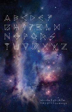 Constellation Type on Behance