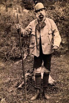Emperor Franz Joseph I of Austria in Hunting Clothes c.1900