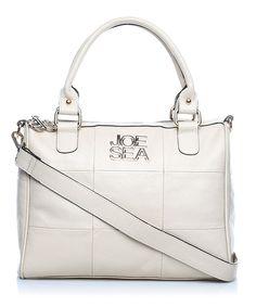 Joe Sea Carree leather holdall in cream, Designer Bags Sale, Joe Sea, Secret Sales