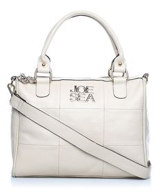 Joe Sea Carree leather holdall in cream, Designer Bags Sale, Joe Sea, Secret Sales
