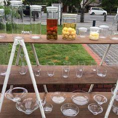 今日はfoc倉敷に、☔️も少しは残りましたが…直ぐに止みました、私はハンターのレインブーツだったので…帰りスーパーに寄る時に、ちょっとでした。 何時も気になる作家さん♪又、何時か我が家に * * * #フィールドオブクラフト倉敷 #蠣崎マコト#ガラス