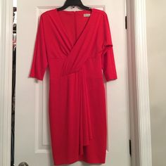 Trina Turk red dress NWT Trina Turk red dress. Size 4, new with tags! Trina Turk Dresses