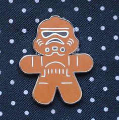 Disney Pin 2015 STAR WARS Gingerbread Series Mystery Stormtrooper