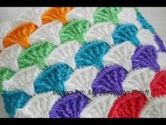 Paintbrush Pillow & Afghan - Crochet Afgan Pattern Presentation - YouTube