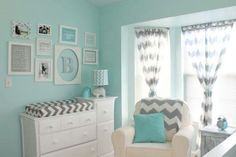 the dream unisex room, easy to alternate items to showcase both boy or girl
