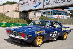 The Camaro dominated SCCA Trans-Am racing shortly after its birth Legendary teams like Penske and Chaperall were noted for their ingenuity, and combined every technical trick in the book with legit Formula One talents like Mark Donohoe behind the wheel. After learning about the car in 1967, they absolutely owned the 1968 and 1969 seasons.
