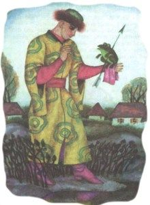The Frog Princess (ukrainian folk tale) - http://derevo-kazok.com.ua/tales/the-frog-princess-ukrainian-folk-tale.html