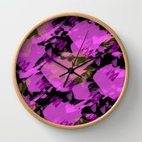 Wall Clock featuring Bella by Gonpart Clock, Wall, Home Decor, Watch, Decoration Home, Room Decor, Clocks, Walls, Home Interior Design