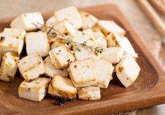 Pieczone tofu z miodem i rozmarynem
