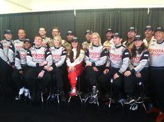2013 Toyota Grand Prix of Long Beach Toyota Pro/Celebrity Race participants