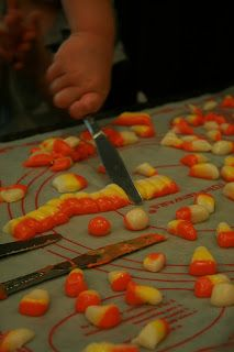 Doodling In My Mind: Halloween Fun/Papier Mache and Homemade Candy Corn