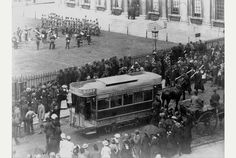 When horse-drawn trams carried Cambridge passengers for a penny