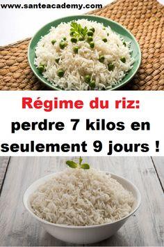 Régime du riz: perdre 7 kilos en seulement 9 jours ! Nutrition, Grains, Weight Loss, Healthy, Food, Physique, Magnolia, Jade, Simple